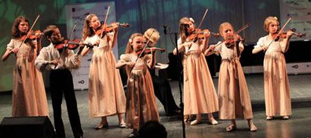 Тутти. Детский ансамбль скрипачей