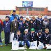 Юные новгородские футболисты