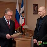 «Боец без правил» Александр Яковлев пригласил губернатора на чемпионат