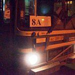 Народный репортер: пассажирам автобуса «8 A» пришлось вызывать скорую для избитого хулиганами парня