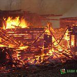 Сегодня ночью на пожаре в Малой Вишере погибли четыре человека