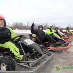 Соревнования по картингу прошли в Великом Новгороде