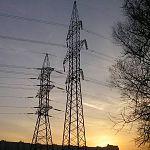 МЭС Северо-Запада монтируют новые опоры на линии электропередачи Чудово-Окуловская