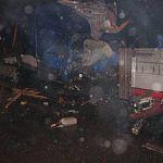 В Новгородском районе водитель ГАЗели погиб при столкновении с фурой