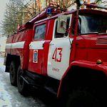 В Шимском районе горела бывшая военная часть