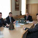 Новгородский губернатор встретился с генконсулом Словакии