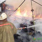 В Новгородском районе в гараже сгорела машина