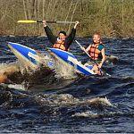 Мост в Новгородской области угрожает сплавляющимся по реке туристам