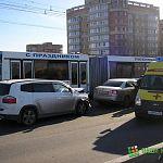 Вчера из-за ДТП на виадуке застряли троллейбусы (фото)