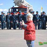 Новгородские пожарные отмечают профессиональный праздник: фото