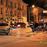 Народный репортер: ночная авария у «Карамболя»