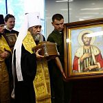Новгородский князь Александр Невский поможет омичам взбодриться