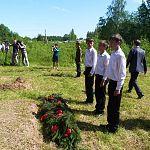 Сегодня в Поддорском районе почтили память павших солдат: фото