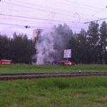Два автомобиля сгорели на соседних улицах в Великом Новгороде (фото)