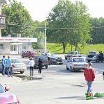 Две иномарки столкнулись на Фёдоровском ручье (фото)
