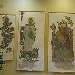 Открылась выставка возрожденных из руин фресок церкви Спаса на Ковалеве