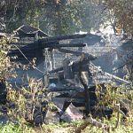 В Валдайском районе  сгорело 2 бани и жилой дом