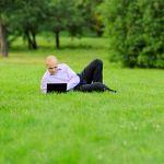 В Кремлёвском парке появилась  точка бесплатного доступа к Wi-Fi