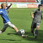 Новгородцы стартовали с победы в первенстве Северо-запада по футболу