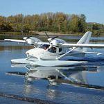 На границе с Ленинградской областью совершил аварийную посадку частный самолёт-амфибия