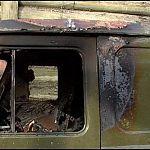 Полиция: «Сгоревший УАЗ был в угоне»