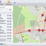 За новгородскими автобусами теперь можно следить онлайн