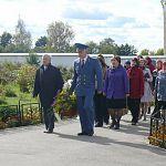 Новгородские юристы возложили цветы к могиле Гавриила Романовича Державина