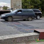 Отремонтированные деформационные швы на мосту Александра Невского уже рушатся