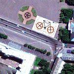 Новгородцы создадут на площади иллюзию движения огромного велосипеда