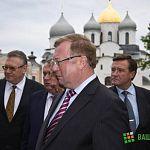 Экскурсия по новгородскому Кремлю для главы Счётной палаты: фото