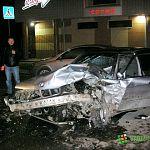 Депутат Гальченко пытался предотвратить ночную аварию с участием BMW возле Центрального рынка