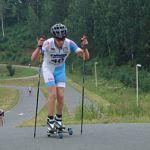 Вадим Андреев занял второе место в юниорском Кубке мира по лыжероллерам