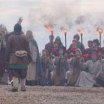 Открытие Княжьего камня на Городище: фотоотчёт