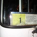 В Великом Новгороде поздно вечером автобус сбил человека (фото)