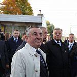 Юрий Бобрышев поздравил новгородцев из-за Полярного круга