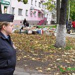 Фотофакт: в субботу полиция оцепила улицу Германа из-за потерянной сумки