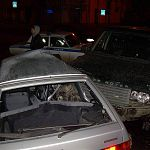 В Великом Новгороде Range Rover смял «Ладу» (фото)