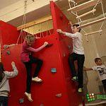 В Великом Новгороде открылся «Мир приключений» для юных альпинистов