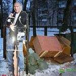 Фотофакт: кого не встретишь на новгородской помойке