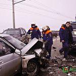 Авария на виадуке: есть пострадавшие