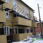 Губернатор Сергей Митин побывал в доме в Кречевицах, у которого рухнули балконы