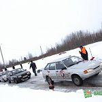 Новгородские автогонщики разыграли медали чемпионата города по ралли