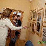 В Детском музейном центре открылась фотовыставка «Соната для луча света с оркестром»