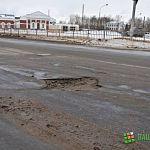 Фотофакт: великая русская зима сокрушила новгородские дороги