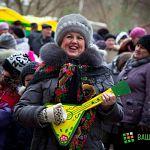 Мэр отпраздновал Масленицу в Волховском и Деревяницах: фото