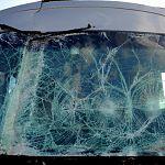 Под Крестцами столкнулись две фуры и рейсовый автобус