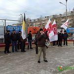 Националисты на митинге в Новгороде потребовали внести в Конституцию пункт о роли русского народа