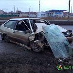 Фотофакт: ДТП у въезда на Колмовский мост
