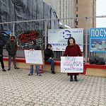 В Великом Новгороде прошёл пикет в защиту содержащихся в СИЗО