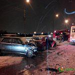 Пьяный новгородец «собрал» на спуске с Колмовского моста несколько автомобилей и автобус